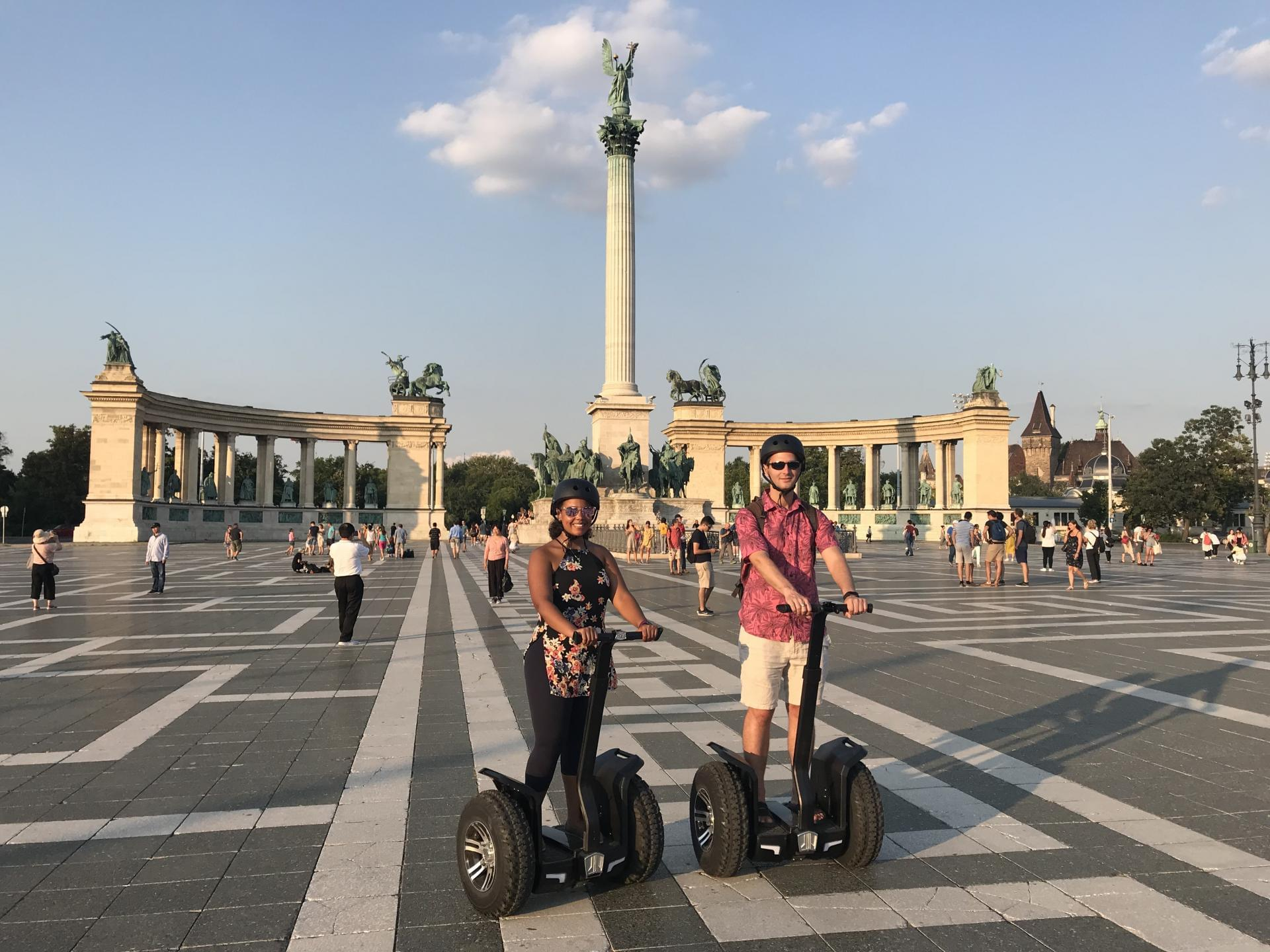 Segway tour on the Heroes Square