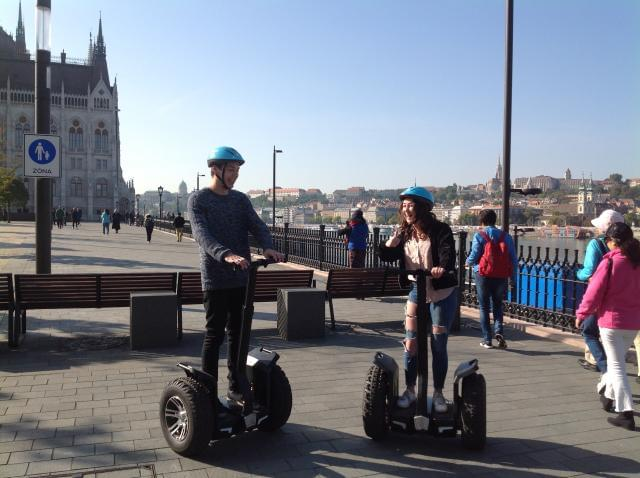 Margaret Island discover Segway tour - Budapest parliament tour in Segway